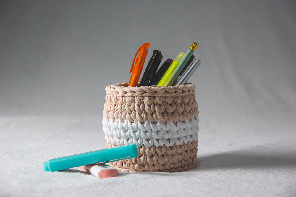 Product Photography of Peach Basket